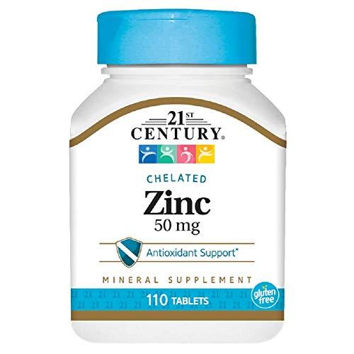 Zinc 50 tabs 21st Century product image