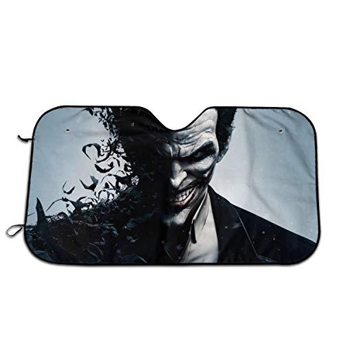 MaryTiTi Bat-Man Joker Car Windshield Sun Shades Universal Fit 51.2