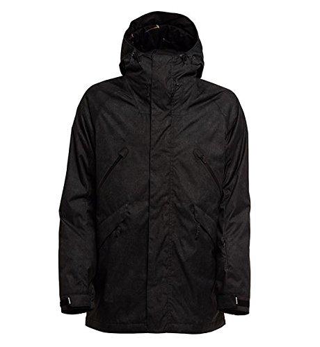 (Bonfire Men's Static Jacket 2018 Black L)