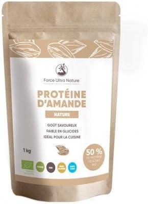 Proteína de almendra en polvo Certificado Bio – 1 kg: Amazon ...