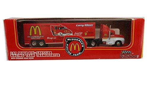 1992 Racing Champions McDonalds Transporter 1:87 Semi Tractor Trailor Mcdonalds Race