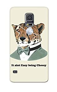New Fashionable Catenaryoi DdRHGJD3578qPQMz Cover Case Specially Made For Galaxy S5(it Ain Easy Being Cheesy)