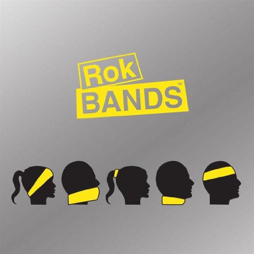 ChalkTalkSPORTS RokBAND Multi-Functional Headband - Lax Crossed Stick Guys - Chevron Pink White by ChalkTalkSPORTS (Image #3)