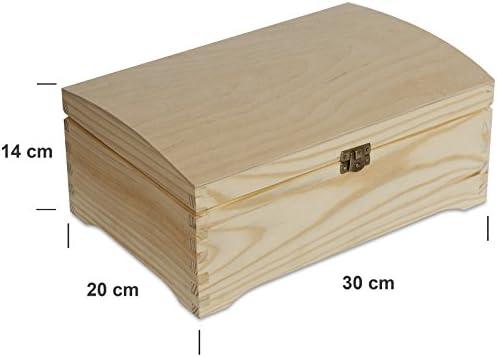 Creative Deco Caja Madera para Decorar | 30 x 20 x 14 cm | con ...