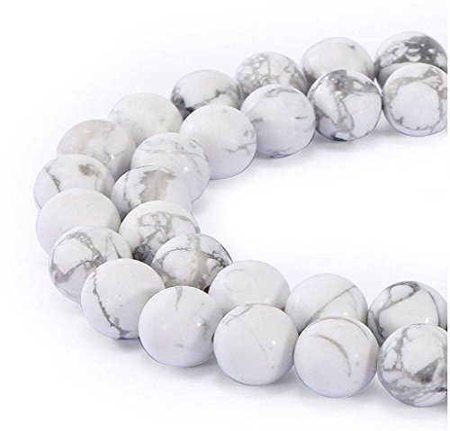 AAA Natural Howlite Gemstone 4mm Loose Round Beads Spacer Beads 15.5