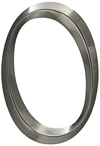 "Whitehall Products Classic Wall Hanging Number 0, 6"", Polished Nickel"