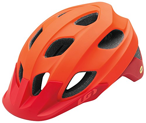 Louis Garneau Raid Adjustable, Lightweight Mountain Bike Helmet with MIPS for Men and Women, Red, ()