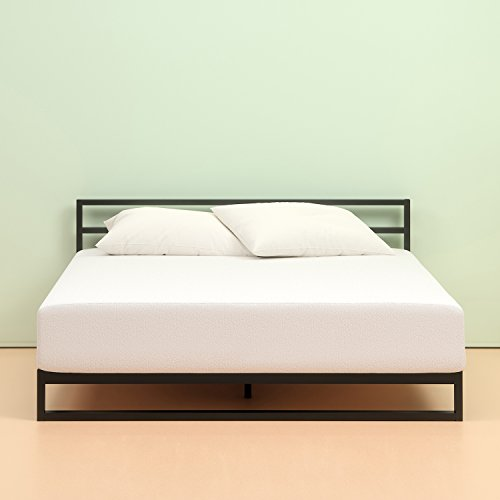 Zinus Memory Foam 10 Inch Green Tea Mattress, Queen (Best Sheets For 10 Inch Mattress)