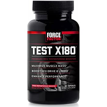 Amazon.com: Force Factor Alpha King Testosterone Booster