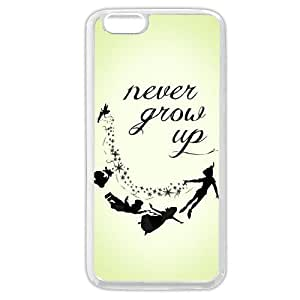 Diy White Soft pc(Hard shell) Disney Cartoon Peter Pan For Iphone 4/4S Case Cover Only fit For Iphone 4/4S Case Cover