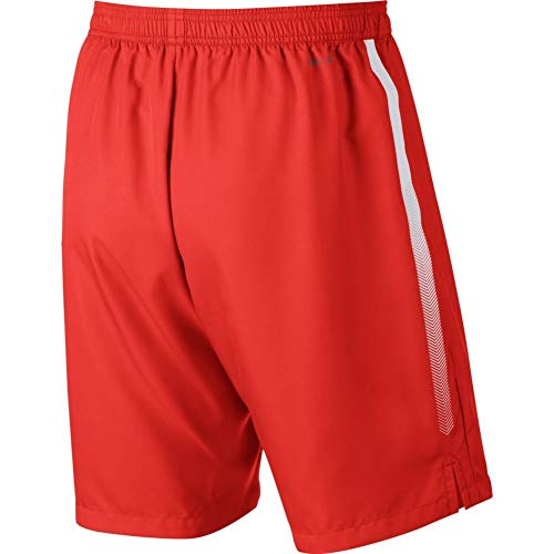 Nike Men's Court Dry 9'' Short (Habanero Red/White, Small) by Nike (Image #3)