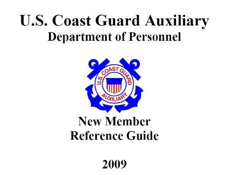USCG Coast Guard Auxiliary Manual