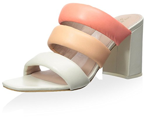 Kate Bosworth x Matisse Women's Kelly Sandal, Pink Multi, 7 M US