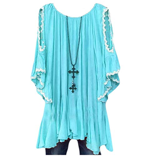 Green T Courtes Manches Courtes Jahurto Shirt Manches YqAcw