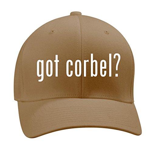 got corbel? - A Nice Men's Adult Baseball Hat Cap, Khaki, - Medium Oak Corbels