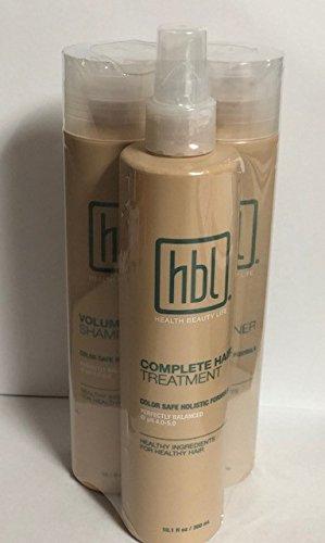 HBL Volume Shampoo 10.1 Fl.oz. + Volume Conditioner 10.1 fl.oz + Complete Hair Treatment 10.1fl.oz