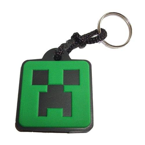 Chaveiro Emborrachado Minecraft Creeper