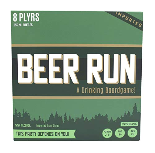 Beer Run Drinking Strategy Board Game by Towpath Gaming (Card Games Similar To Cards Against Humanity)