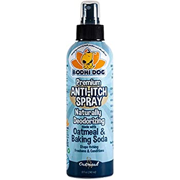 New Anti Itch Oatmeal Spray for Dogs and Cats | 100% All Natural Hypoallergenic Soothing Relief for Dry, Itchy, Bitten or Allergy Damaged Skin Treatment | Professional Quality - 1 Bottle 8oz (240ml)