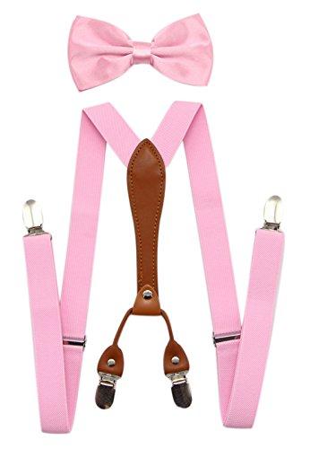 JAIFEI Suspenders Bowtie Elastic Wedding