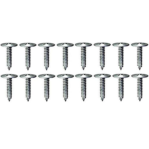 Caster Wheels Screws Bolts Hardware kit (16) #8 1-1/4″ Phillips Truss-Head Wood Screws