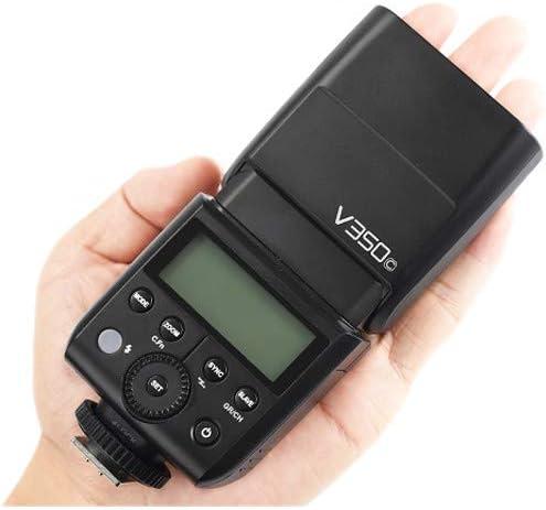 Godox V350C Flash for Select Canon Cameras Camera Flash Speedlite Bundle