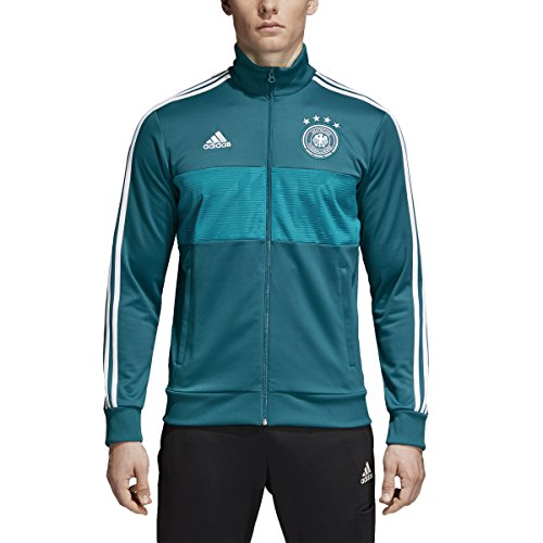 Jacket Jersey Track - adidas World Cup Soccer Germany Men's 3 Stripes Track Top, X-Large, Green