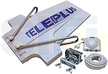 Teleco – TELEPLUS Antena TV Dir. + Amplif. at36 + 5 mt. Cable ...