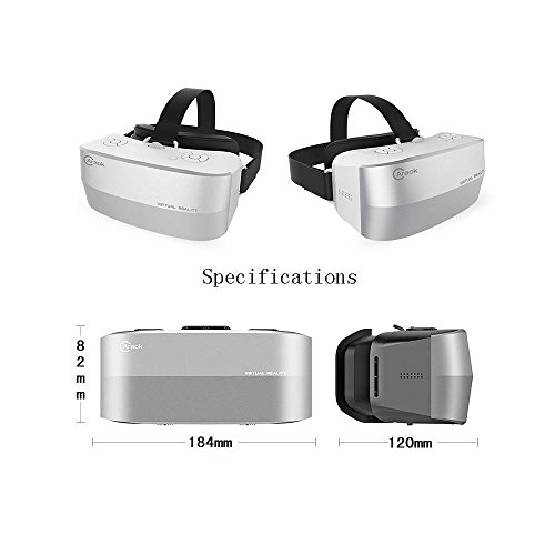 Komiro Caraok 3D VR Virtual Reality Box Headset All in One Machine Android OS with 5.5'' HD 1080P Sharp IPS Display Screen 360° Panorama ALLWINNER H8 Processor 2G Ram 16GB Rom (No Phone Needed) by Komire (Image #1)