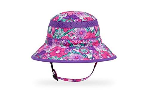 (Sunday Afternoons Kids Fun Bucket Hat, Flower Garden, Medium)