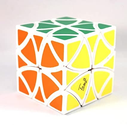 Amazon.com: Curvy Copter Mefferts Blanco Puzzle cubeta ...