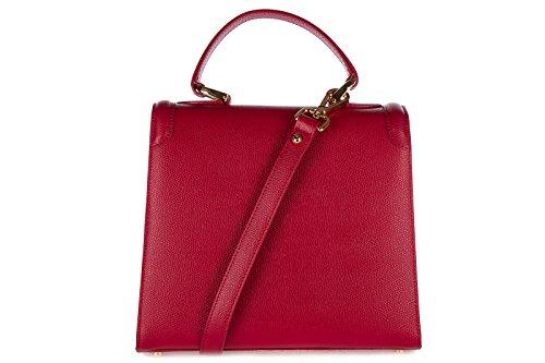monaco femme Este main rouge à en d sac cuir scuro 10xdqn1IW