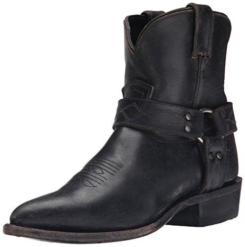 FRYE Women's Billy Harness Short Harness Boot,  Black, 6 M US