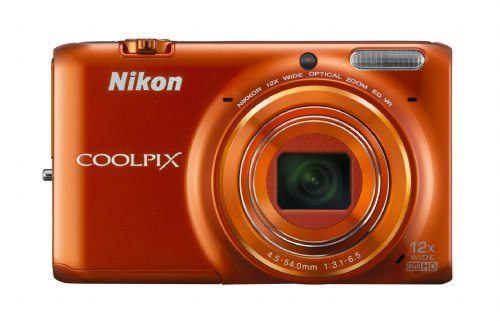 Nikon COOLPIX Digital Camera Orange