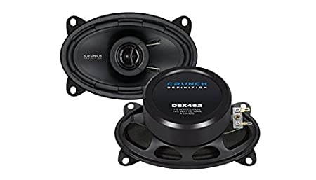 JUST SOUND best choice for caraudio Crunch DSX462-4x6 Koax-System Einbauset f/ür Seat Cordoba 1 Vario Heck