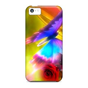 Premium Awesome Butterfly Covers Skin For Iphone 5c
