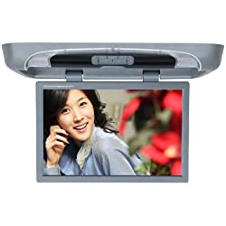 Tview T20DVFD-GR 20-Inch Flip Down with Built-in DVD Player (Gray)