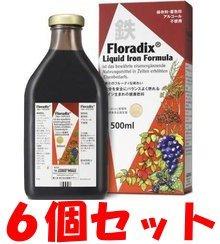 サルス社 Floradix フローラディクス 500ml×6本セット B00HSVCFIY