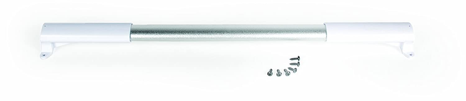 Camco Screen Door Cross Bar Handle - Allows For Easier Exit And Protection RV Screen Doors with Sturdy and Secure Grip (White) (42186)