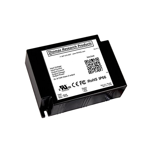 Thomas Research Products LED SUPPLY CC AC/DC, 40W, 1670MA LED Drivers by Thomas Research Products
