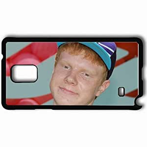 Personalized Samsung Note 4 Cell phone Case/Cover Skin Adam Hicks Cap Red Face Look Black WANGJING JINDA
