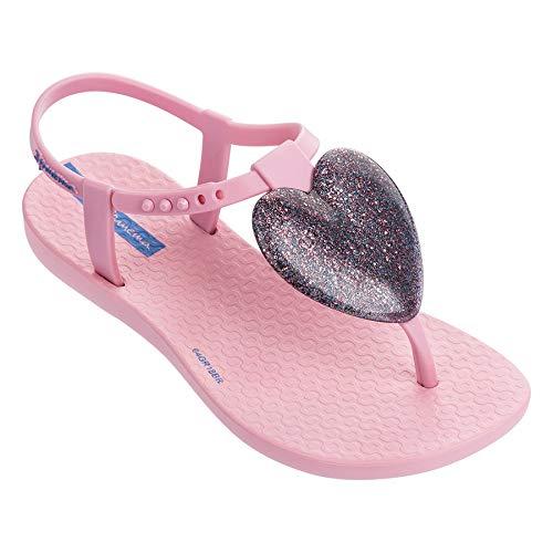 Ipanema Love Sand Girls' Sandals, Fuchsia (13/1 US) -