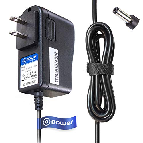 T POWER AC Adapter Compatible with NuBrilliance, Molain, Sapphire, Kendal Diamond Microdermabrasion Skin Care Vacuum Suction Cleaner System Machine Supply Cord Rapid Charger