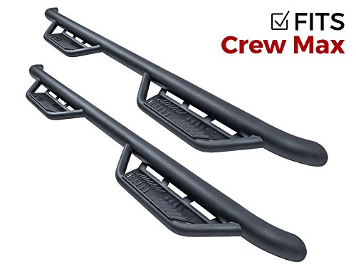 - Havoc Offroad HPG-001404 HS2 Black Hoop Nerf Bar Truck Steps (Fits Only 2007-2018 Toyota Tundra CrewMax)