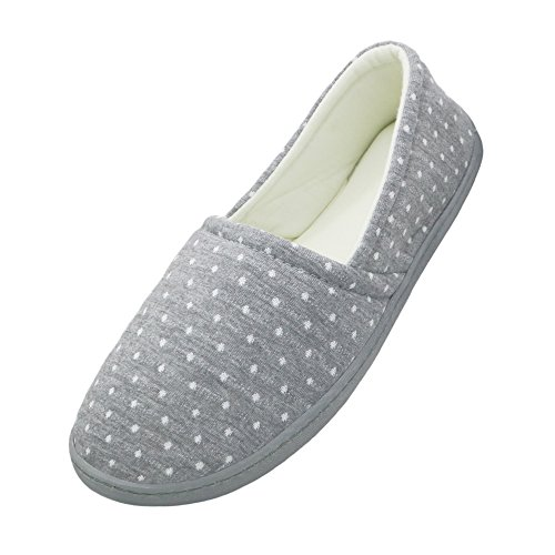 bestfur Pure Cotton Breathable Lining Comfortable Home Slippers Indoor Shoes by bestfur