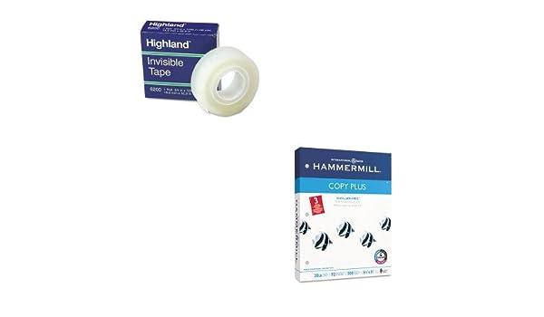 Amazon com : KITHAM105031MMM6200341296 - Value Kit - Hammermill Copy