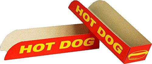 Envase automontable cajita Hot Dog - Perrito Caliente 50 und: Amazon.es: Alimentación y bebidas