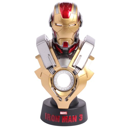 Marvel Iron Man 3 Mark XVII 17 Heartbreaker 1/6 Collectible Bust by Hot Toys