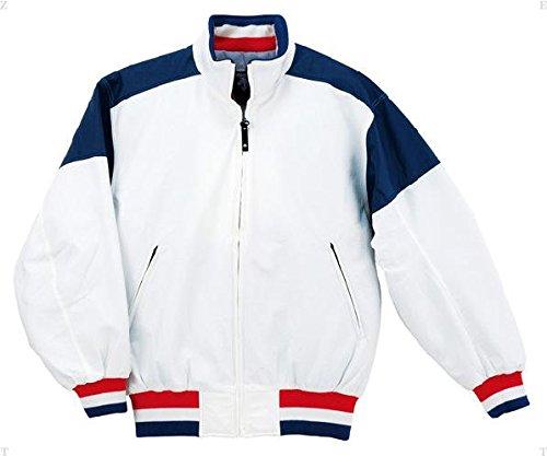 DESCENTE (デサント) グランドコート DR202 WNV 1612 B01MQY98QH O|WNV.ホワイト-ネイビ WNV.ホワイト-ネイビ O