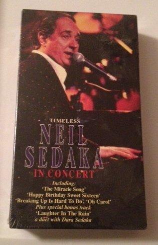 NEIL SEDAKA - Timeless Neil Sedaka In Concert [vhs] - Zortam Music